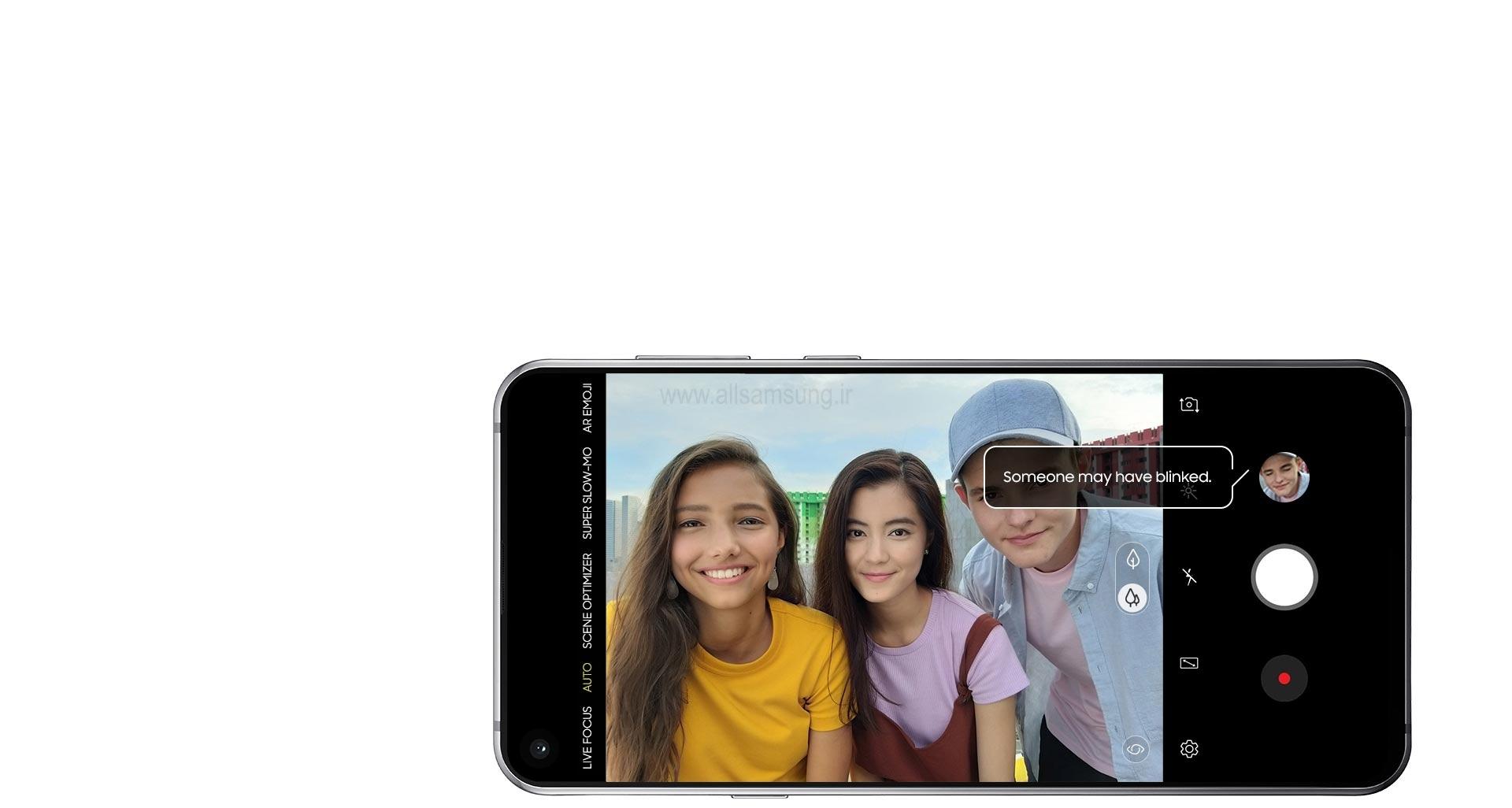 تشخیص خودکار نواقص تصویر با گوشی گلکسی ای 8 اس