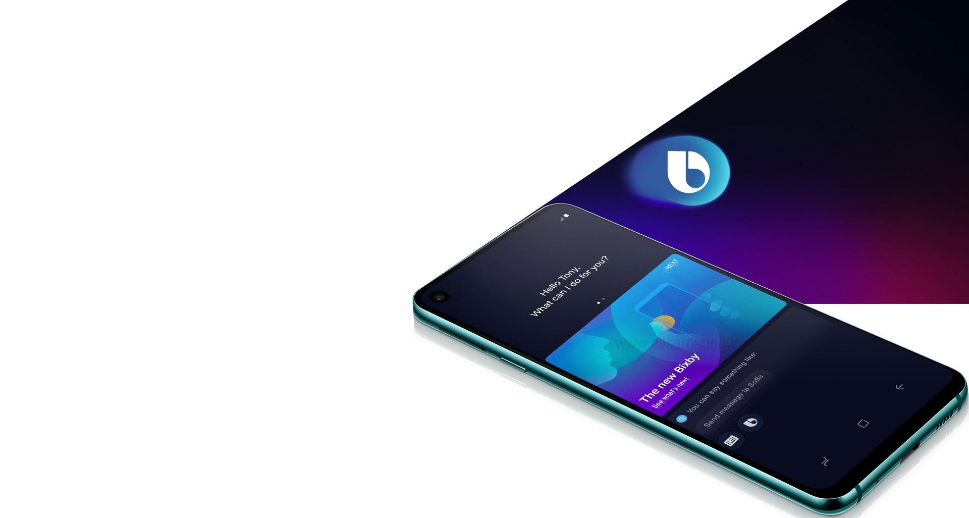 گوشی گلکسی ای 8 اس، مجهز به دستیار صوتی هوشمند بیکسبی