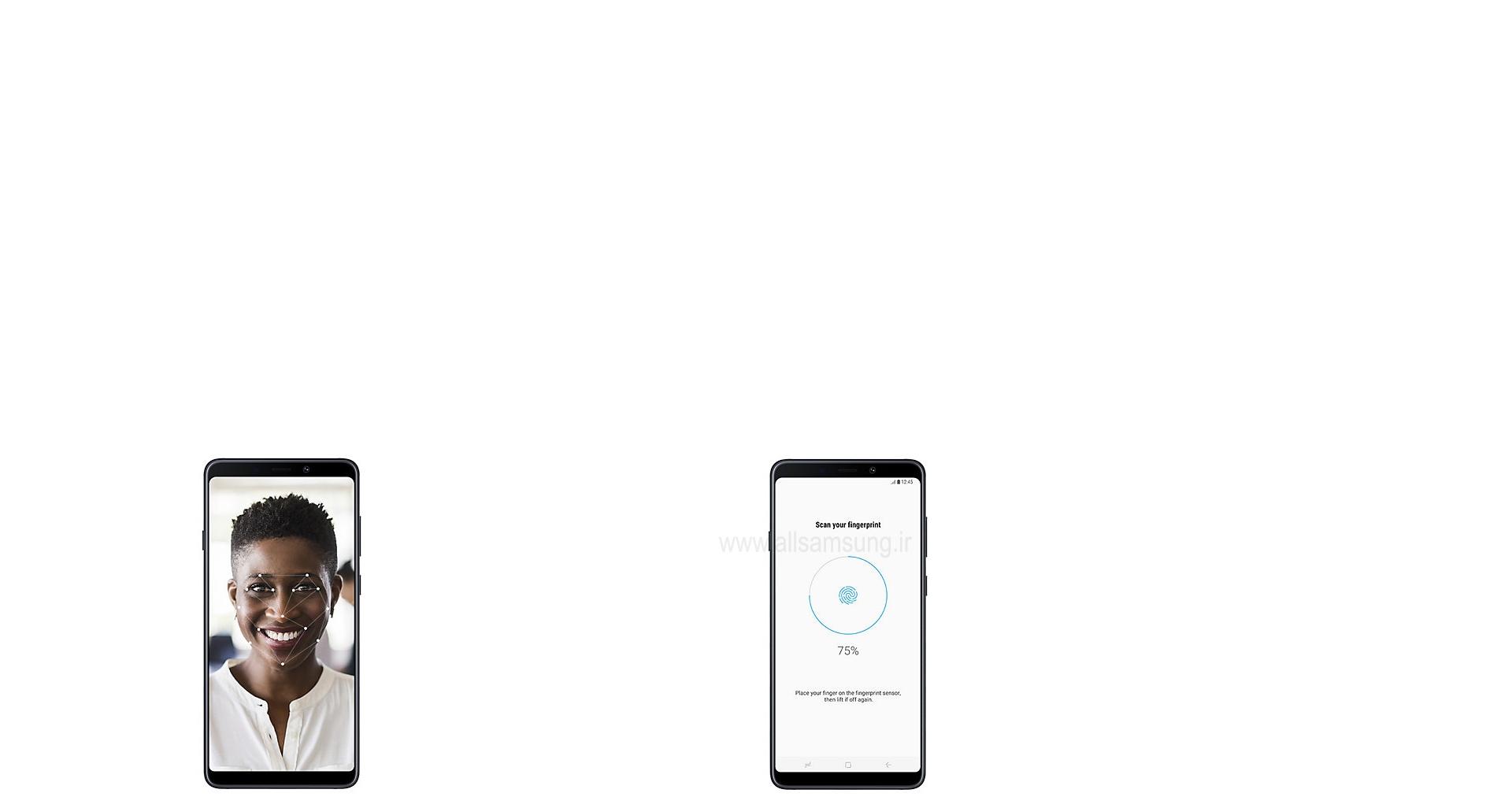 امنیت بی نظیر در گوشی هوشمند گلکسی ای 9