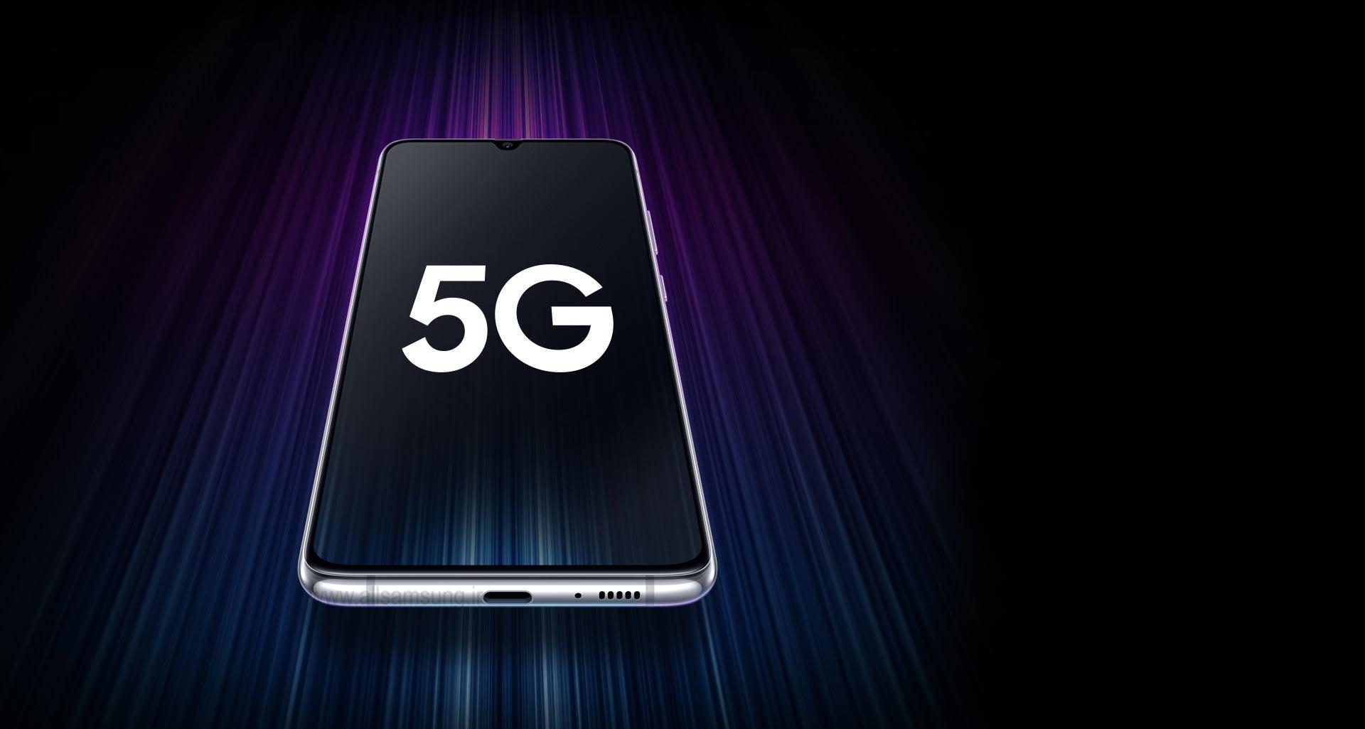 گوشی A90 با پشتیبانی از شبکه 5G به منظور اتصال شما با نسل بعدی سرعت