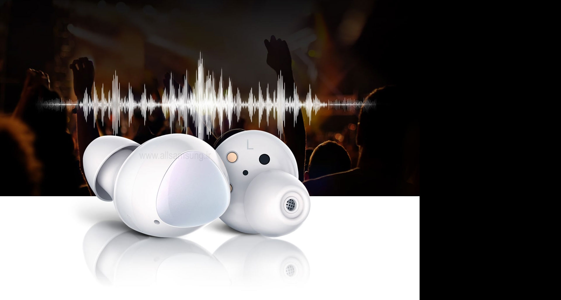 گلکسی بادز با صدایی تمام عیار و مشوق حرکت شما