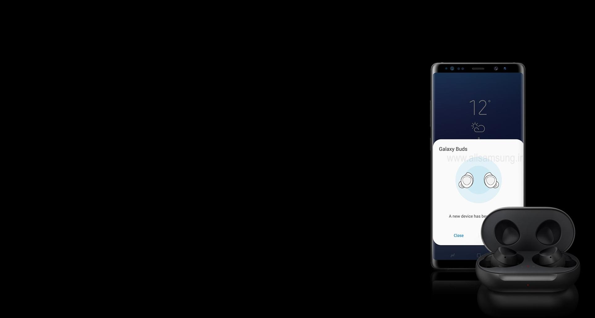 همگام شدن سریع Galaxy Buds با گوشی