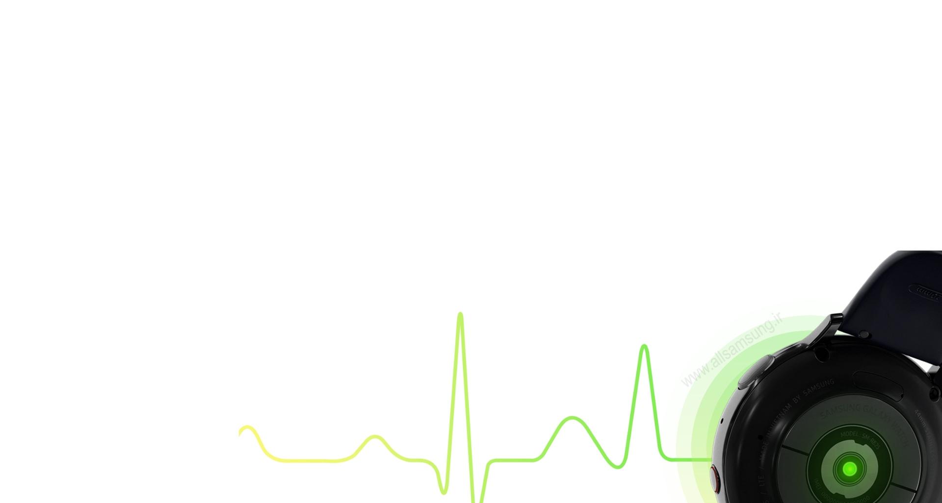 ارزیابی ضربان قلب برای ایجاد آرامش در کاربر توسط گلکسی واچ اکتیو 2
