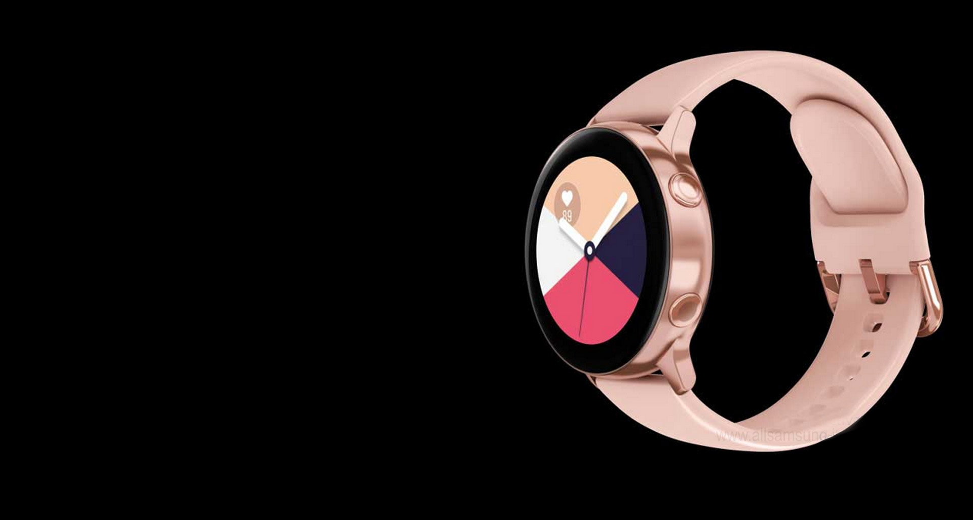 طراحی متفاوت galaxy watch active متناسب با استایل شما