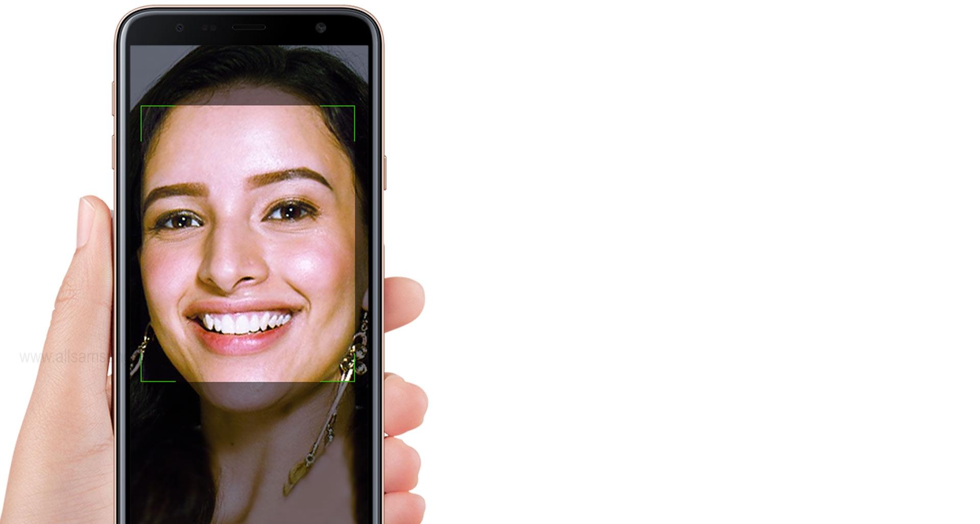 گلکسی جی 4 پلاس با فناوری خارق العاده تشخیص چهره