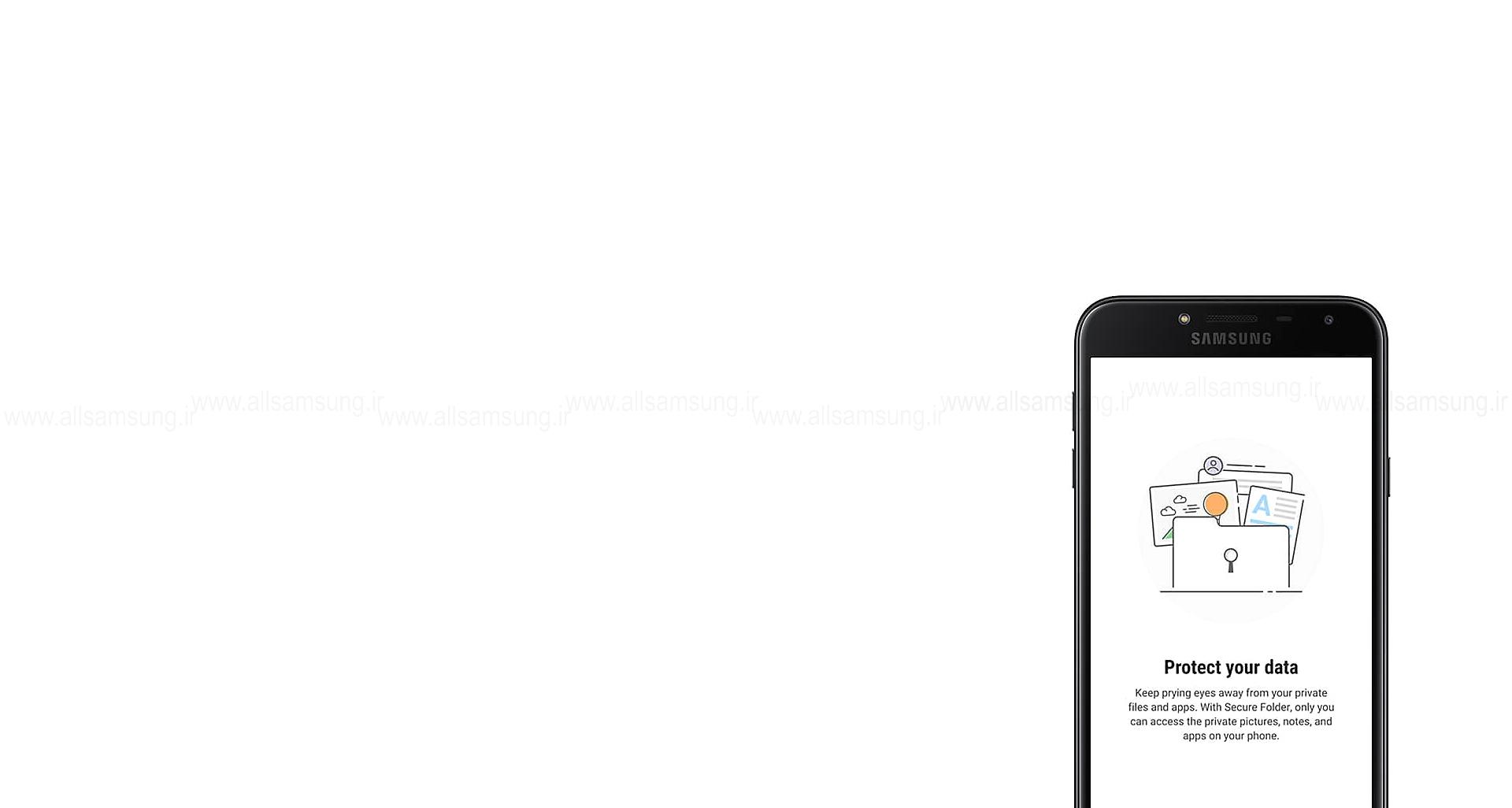 فضایی خصوصی برای فایل های محرمانه شما در گوشی سامسونگ گلکسی جی 4