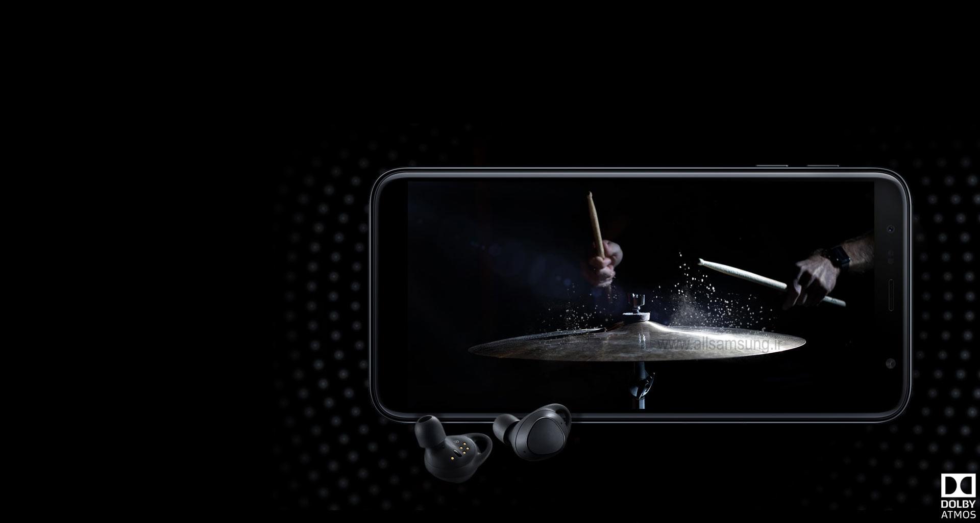 تجربه صدای دالبی با گوشی J6 Plus سامسونگ