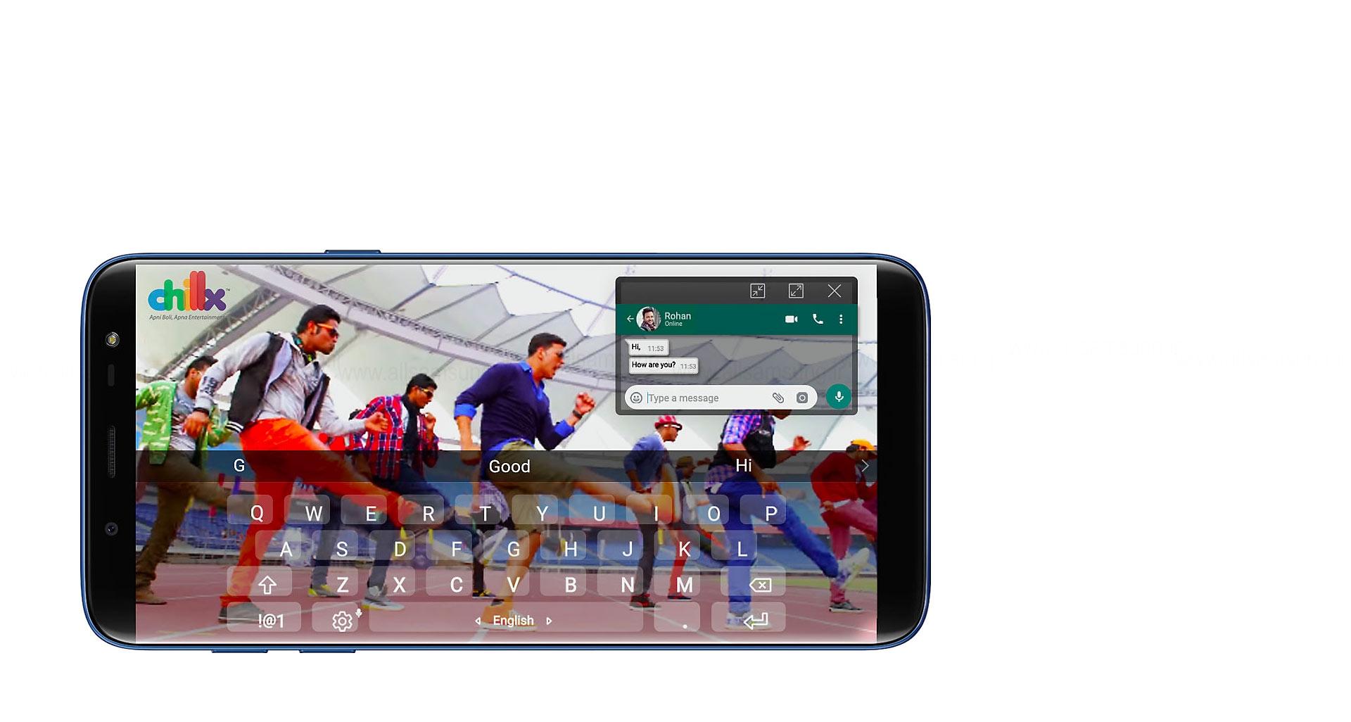 سرگرمی نامحدود با موبایل سامسونگ مدل J6