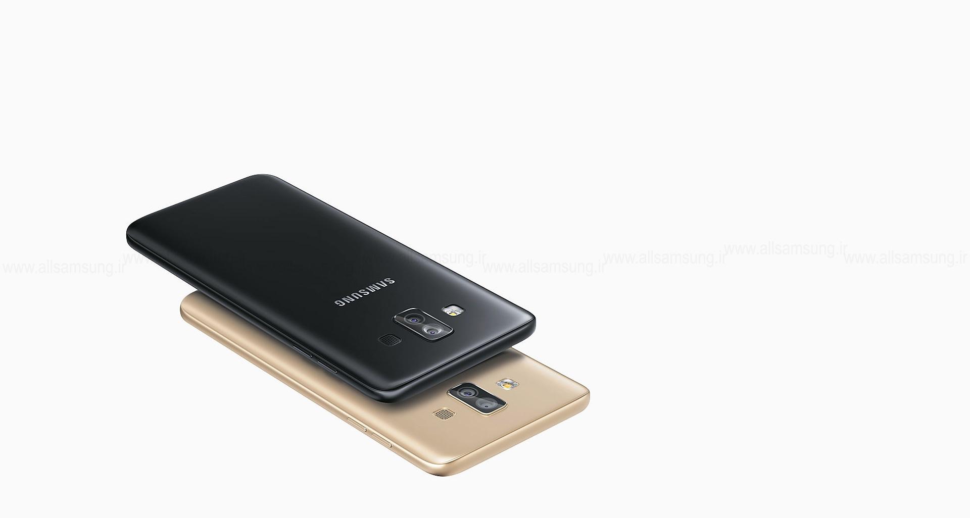 طراحی خیره کننده گوشی Galaxy J7 Duo