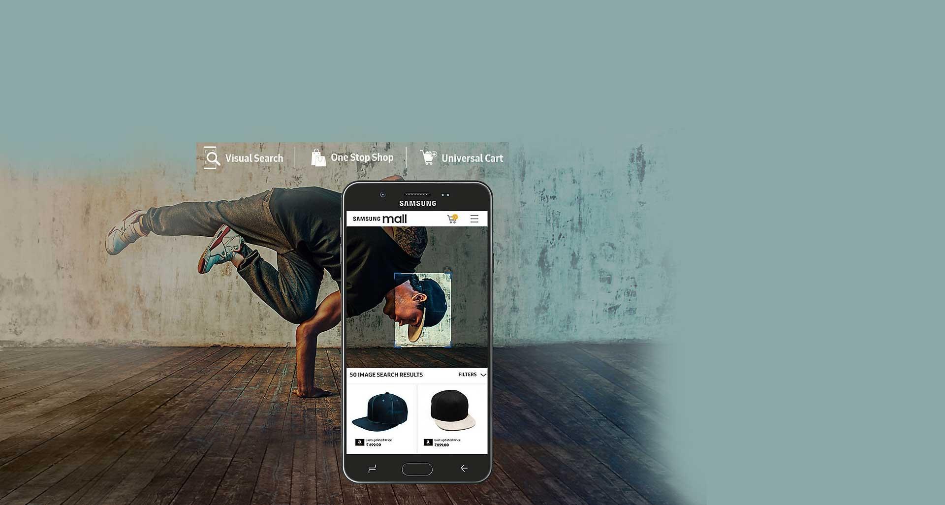 گوشی گلکسی جی 7 پرایم 2 با ویژگی Samsung Mall