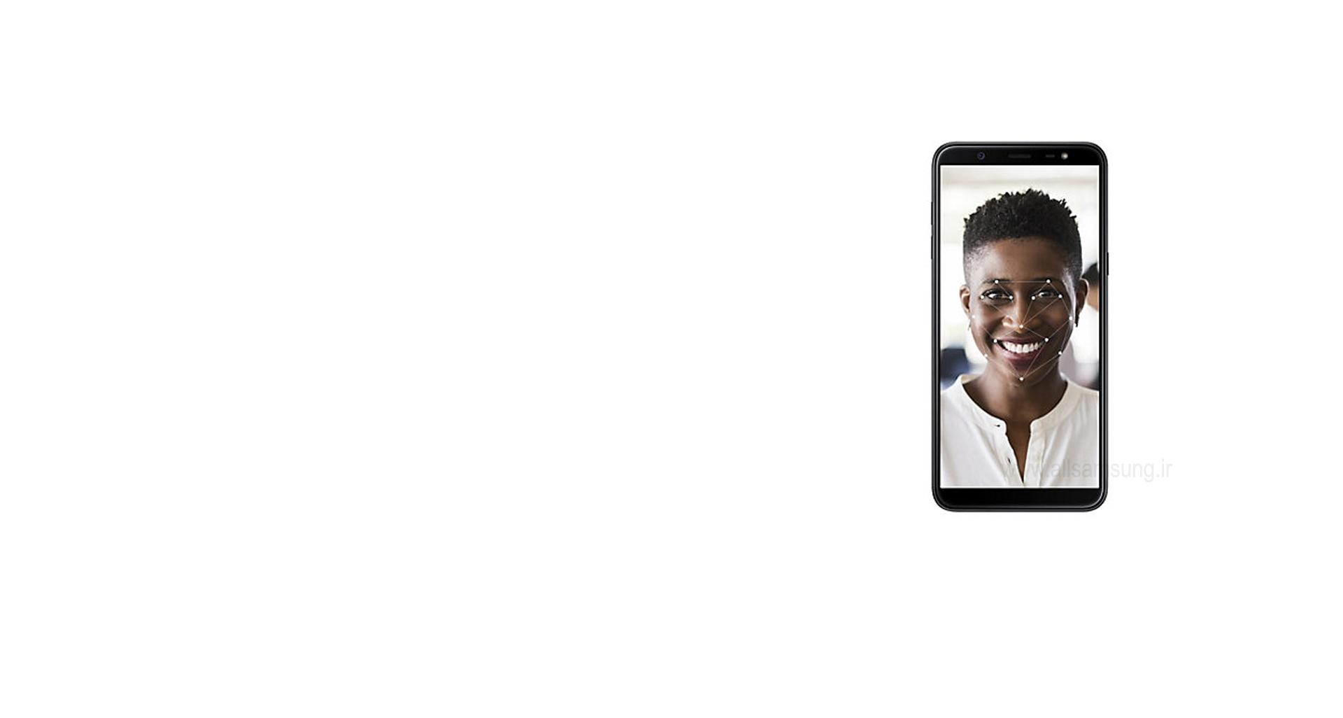 گوشی گلکسی جی 8 با امنیتی فوق العاده