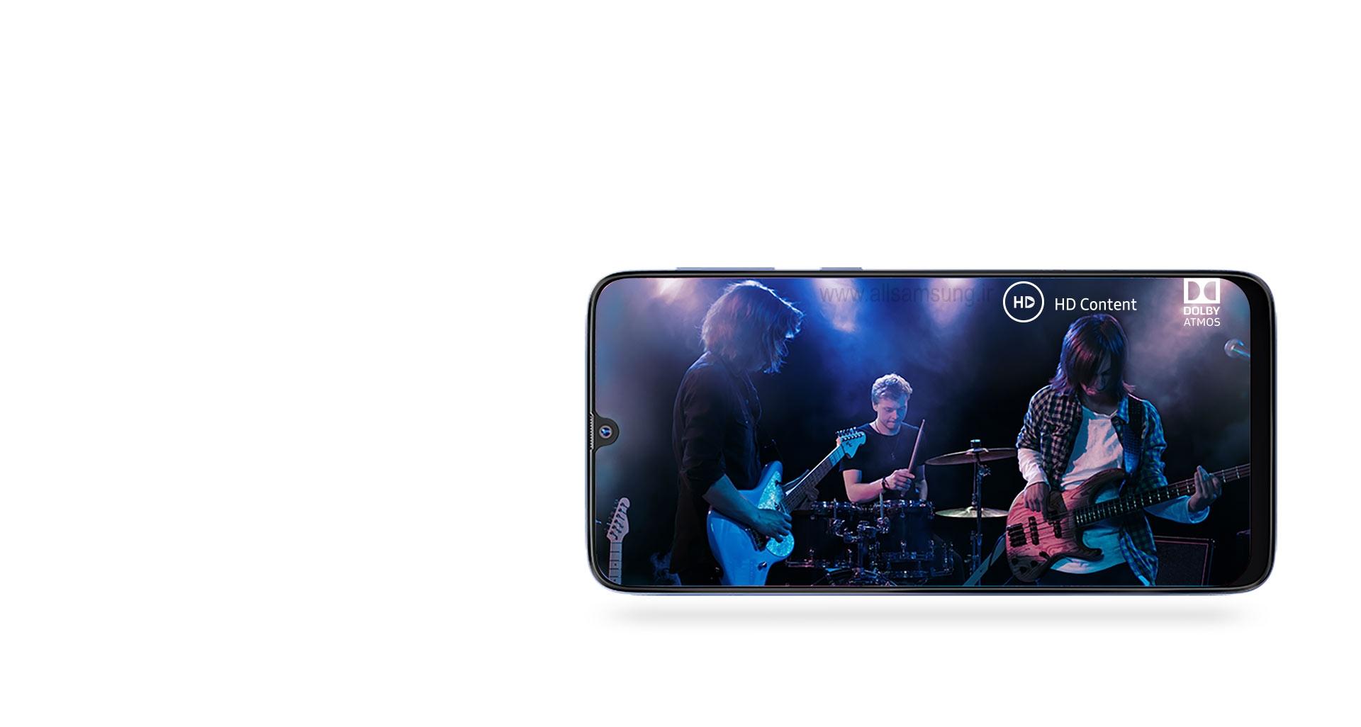 گوشی سامسونگ m30 با تأییدیه Widevine L1 و تکنولوژی Dolby ATOMS