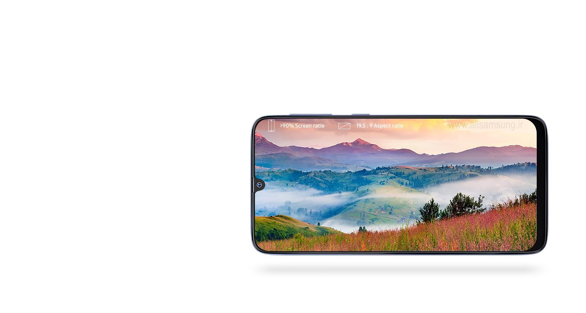 گلکسی M30 با صفحه نمایش 6.4 اینچی سوپرآمولد فول اچ دی پلاس Infinity U