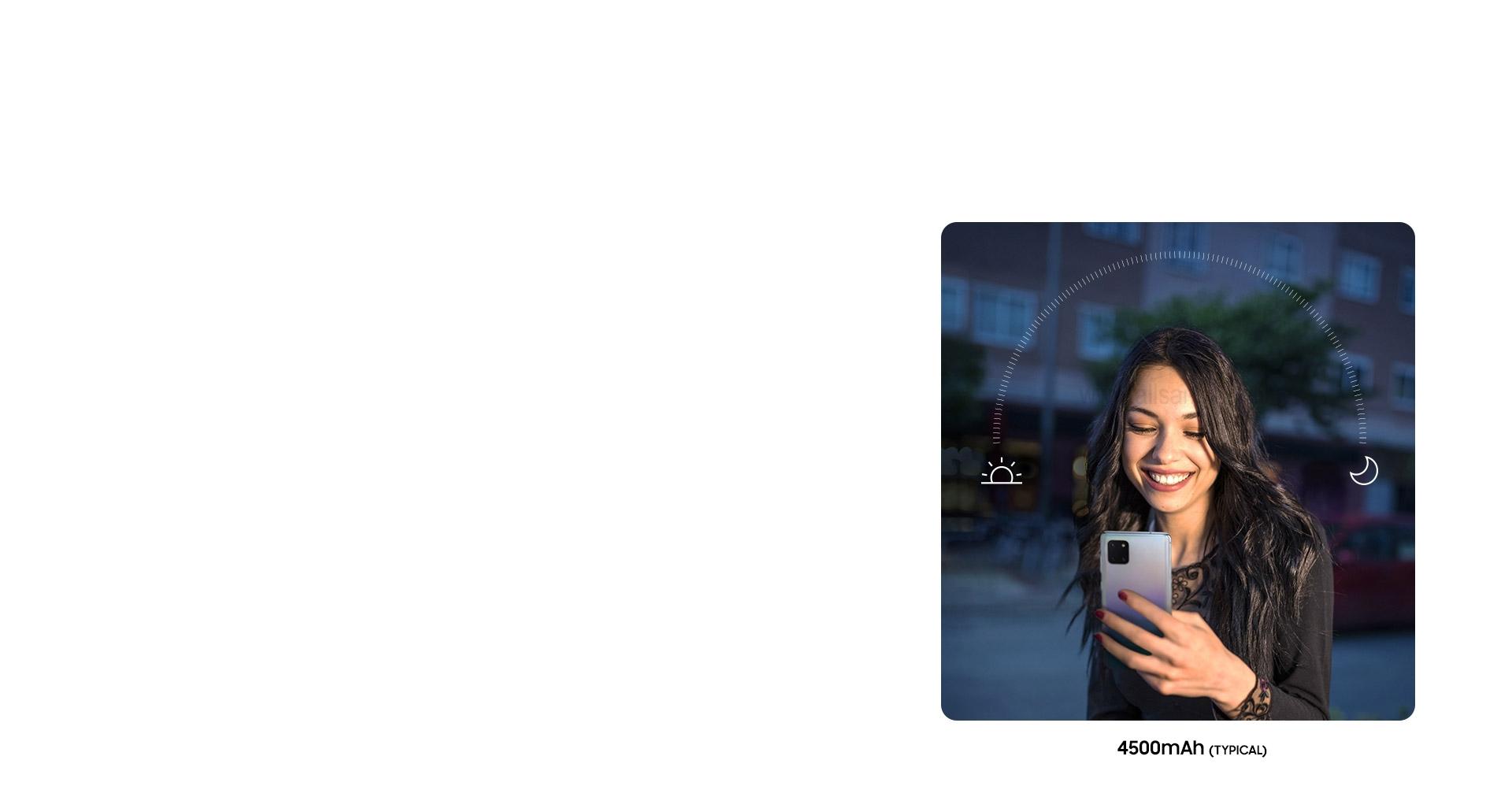 باتری قدرتمند Galaxy Note10 Lite برای همراهی با شما