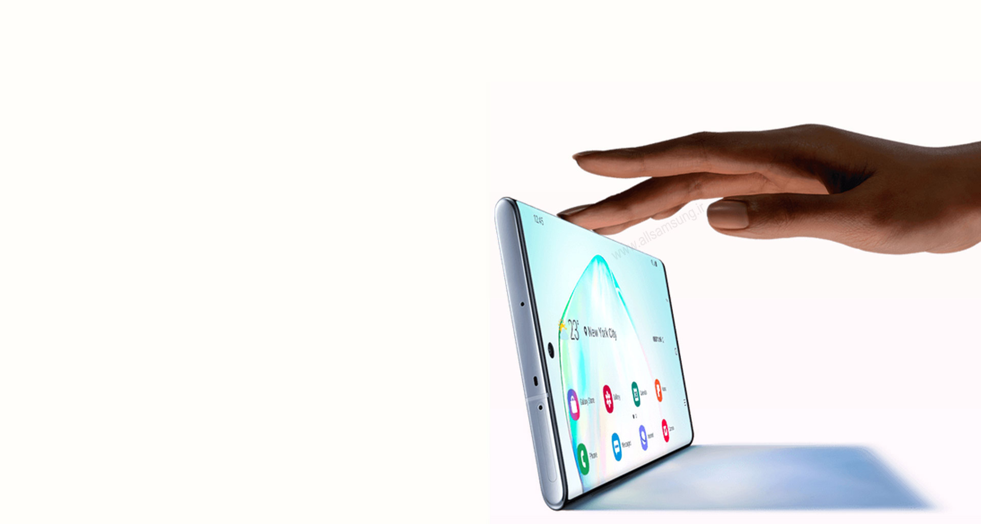 Galaxy Note10+ با حافظه واقعی یک لپتاپ