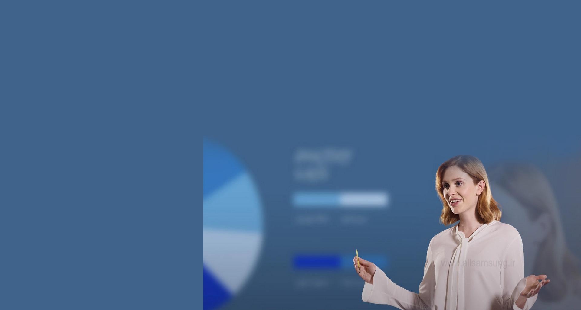 کنترل از راه دور یک کنفرانس یا ارائه سر کلاس توسط S Pen گوشی نوت 9