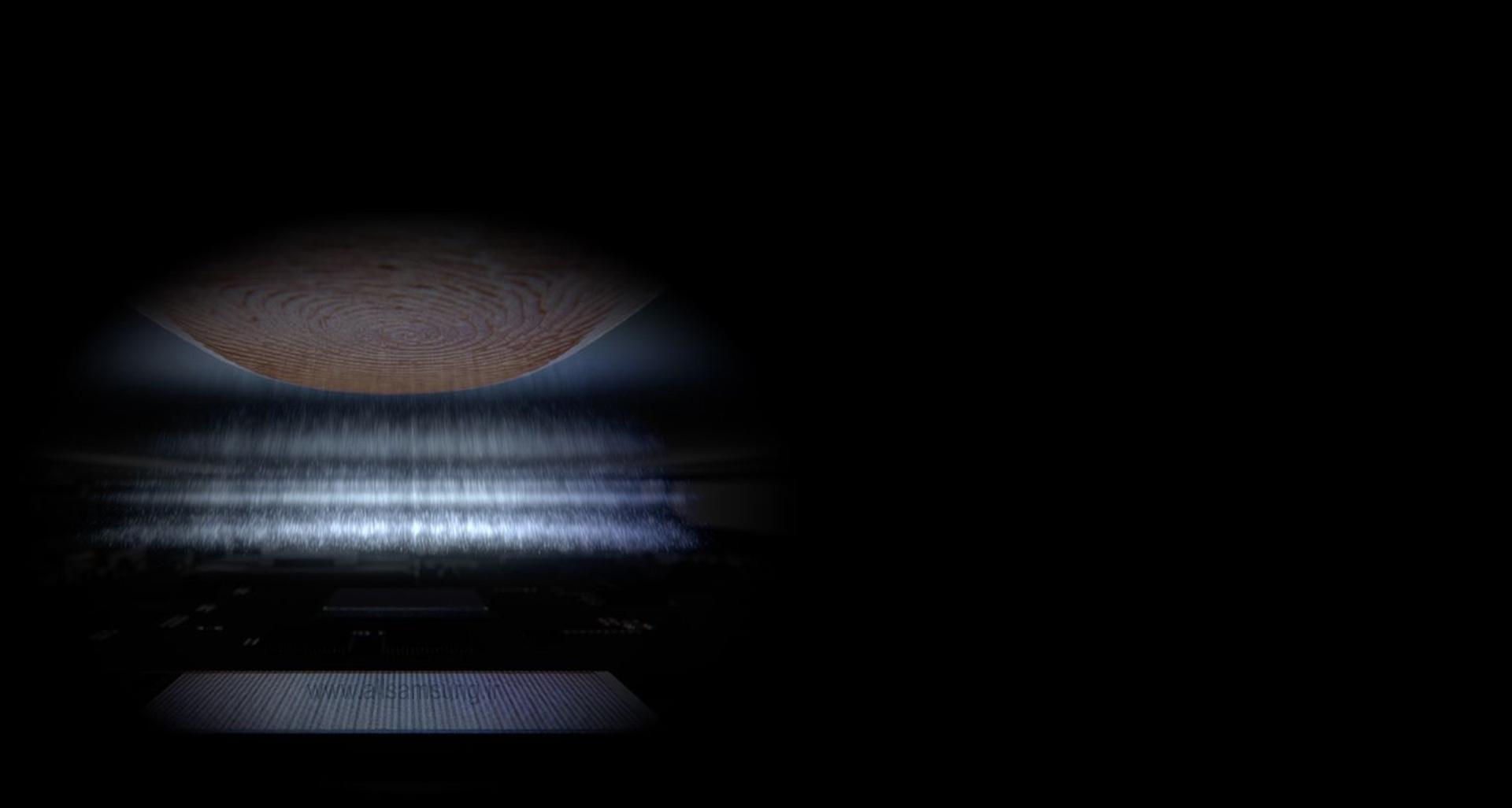 اسکنر اثر انگشت اولتراسونیک گلکسی اس 10