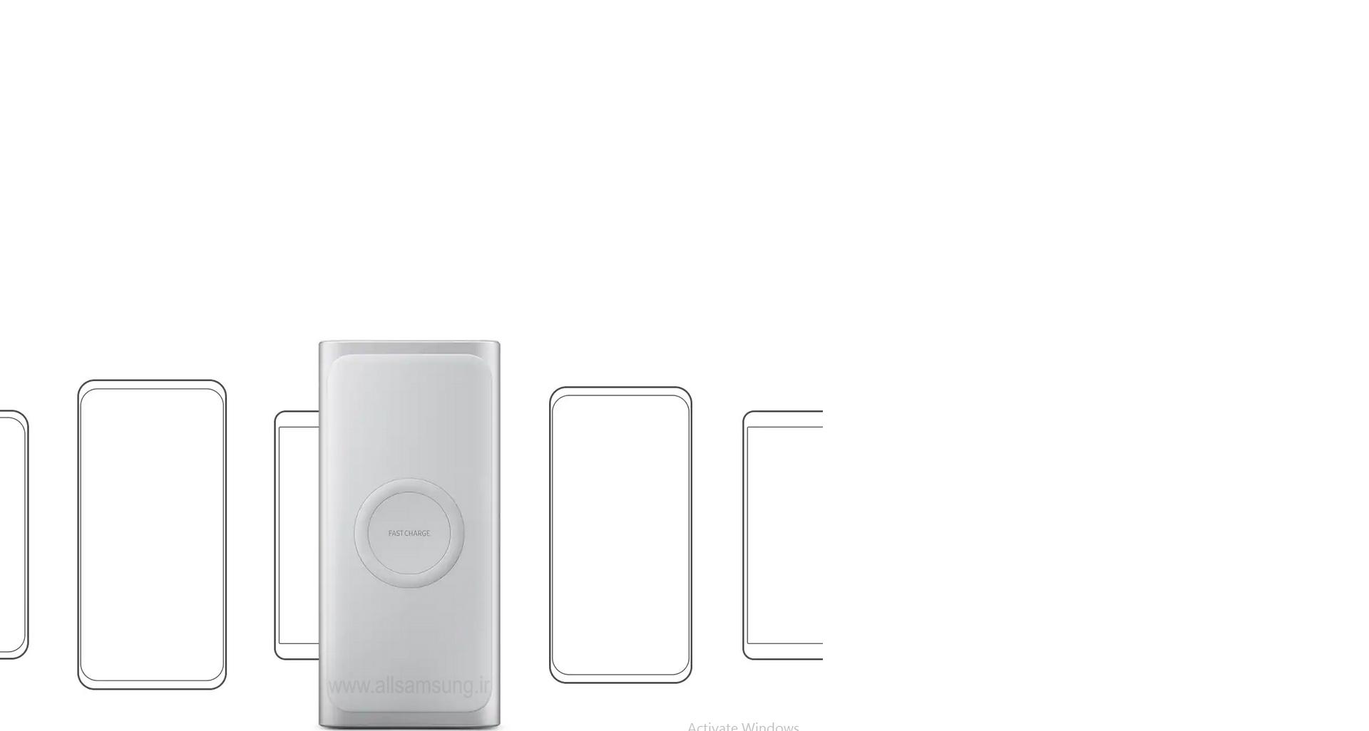 شارژر باتری سامسونگ سازگار با دستگاه های دارای قابلیت پشتیبانی از Qi