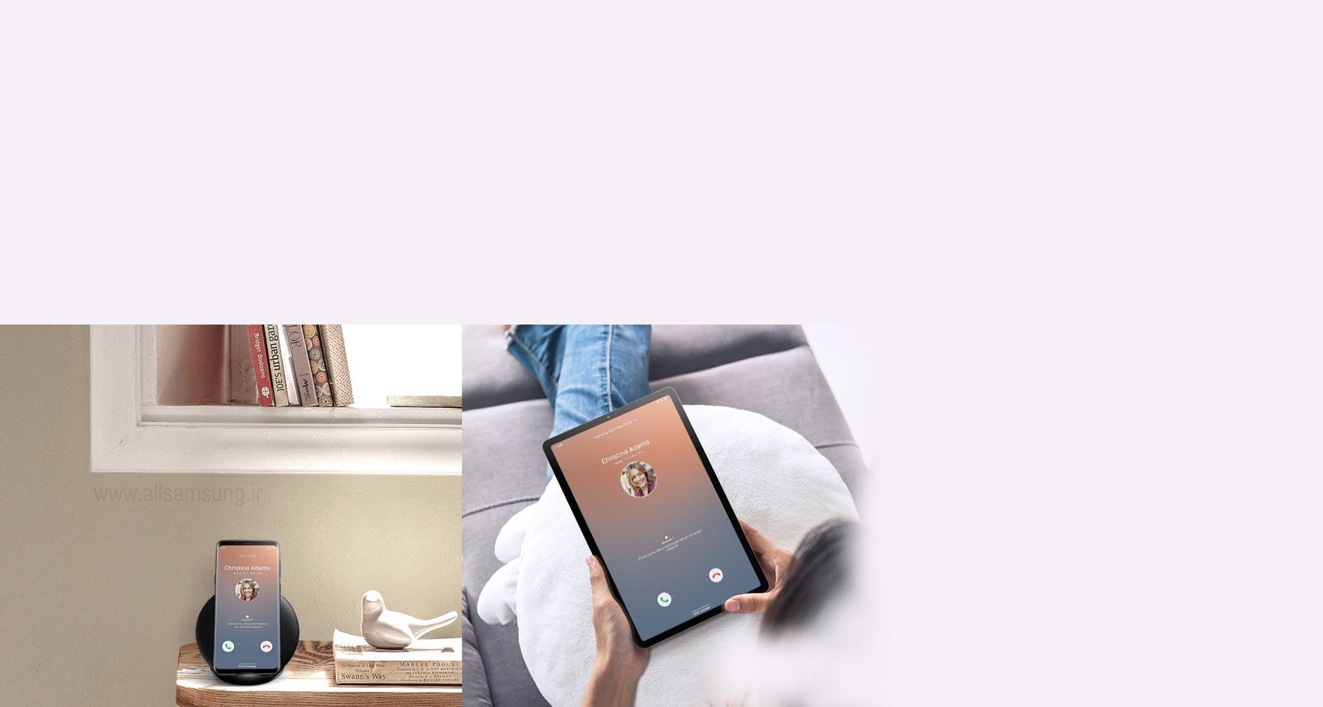 تبلت گلکسی تب اس 5 ایی، جایگزینی برای گوشی