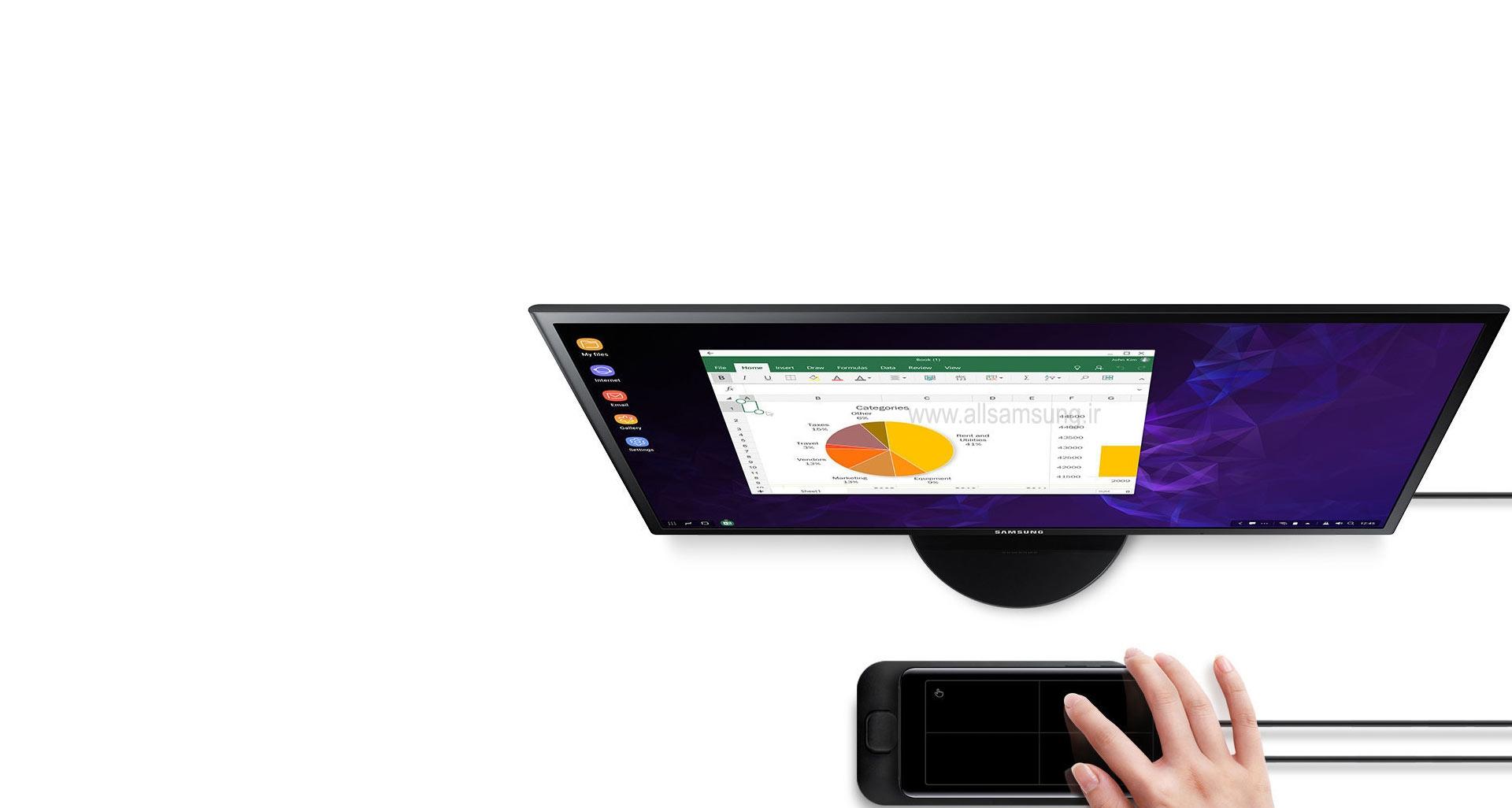 دسترسی به اپلیکیشن های کاربردی موبایل بر روی دسکتاپ با دکس پد