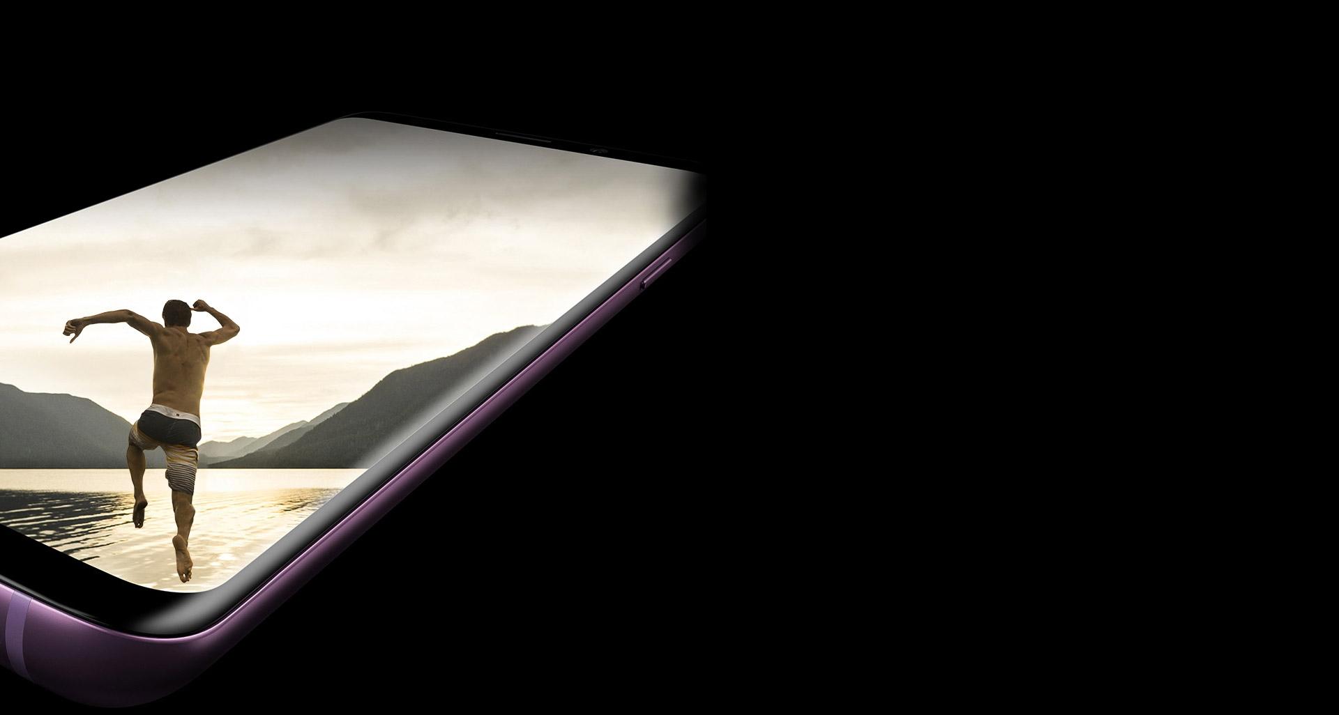 با طراحی بدون مرز نمایشگر Infinity اس 9 بیشتر ببینید