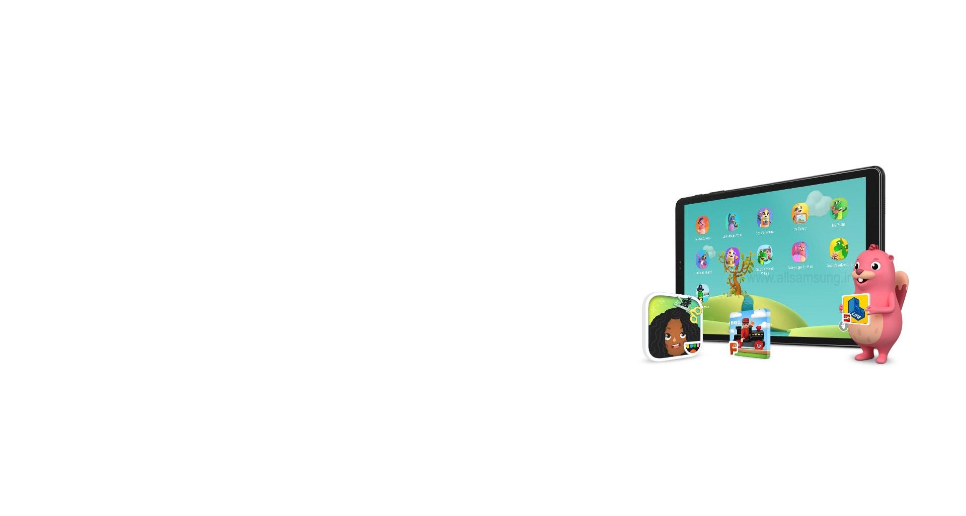 تب A سامسونگ، تبلتی آموزشی و سرگرم کننده برای بچه ها