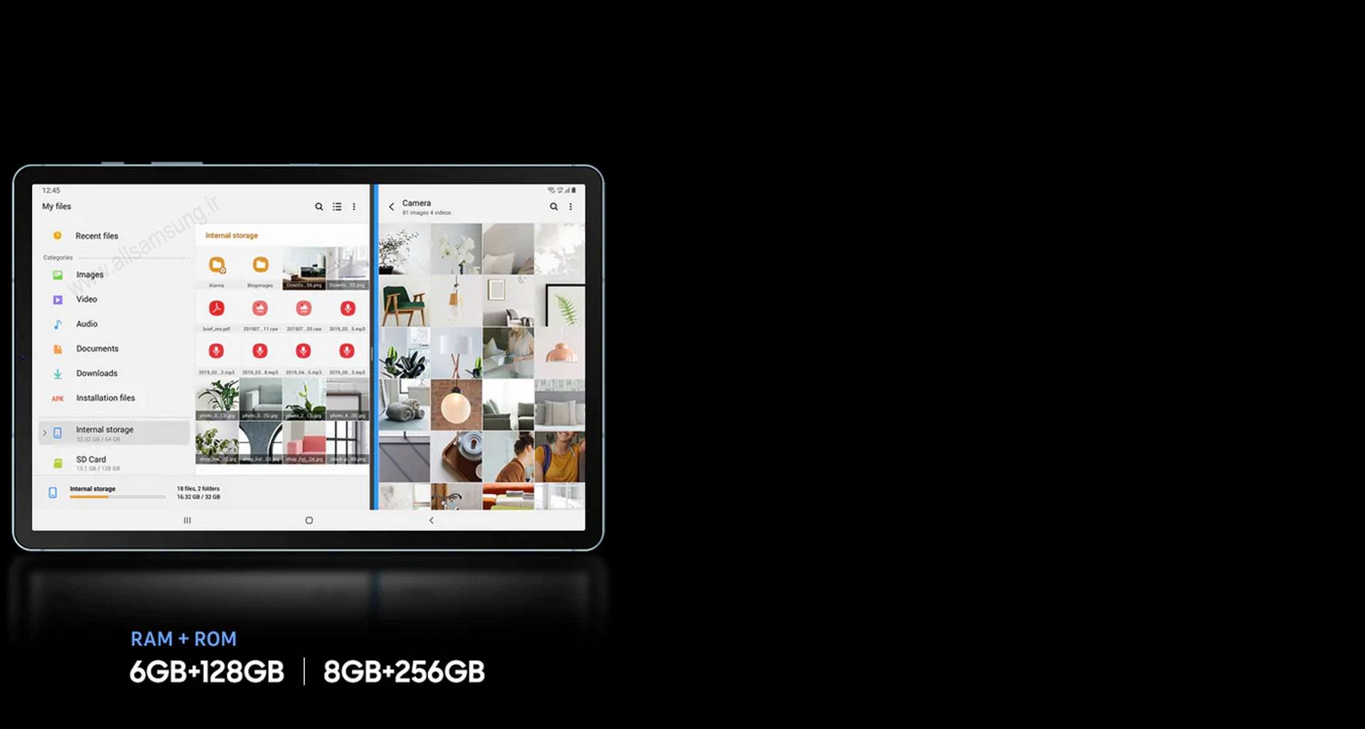تبلت Tab S6 سامسونگ، محلی برای ذخیره محتوای مورد نظر شما