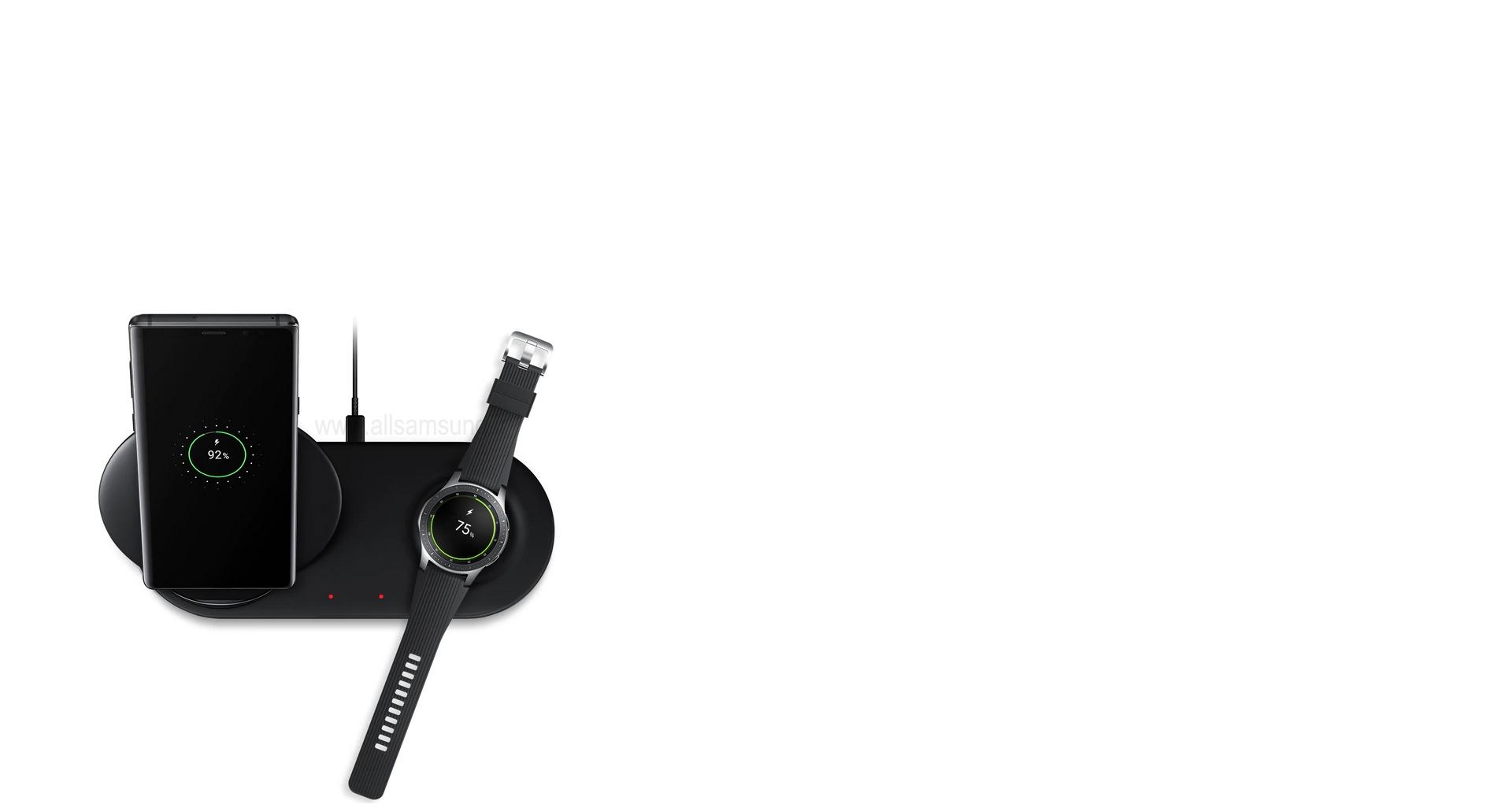 شارژر بی سیم Duo سامسونگ، قابل استفاده برای دستگاه های مختلف