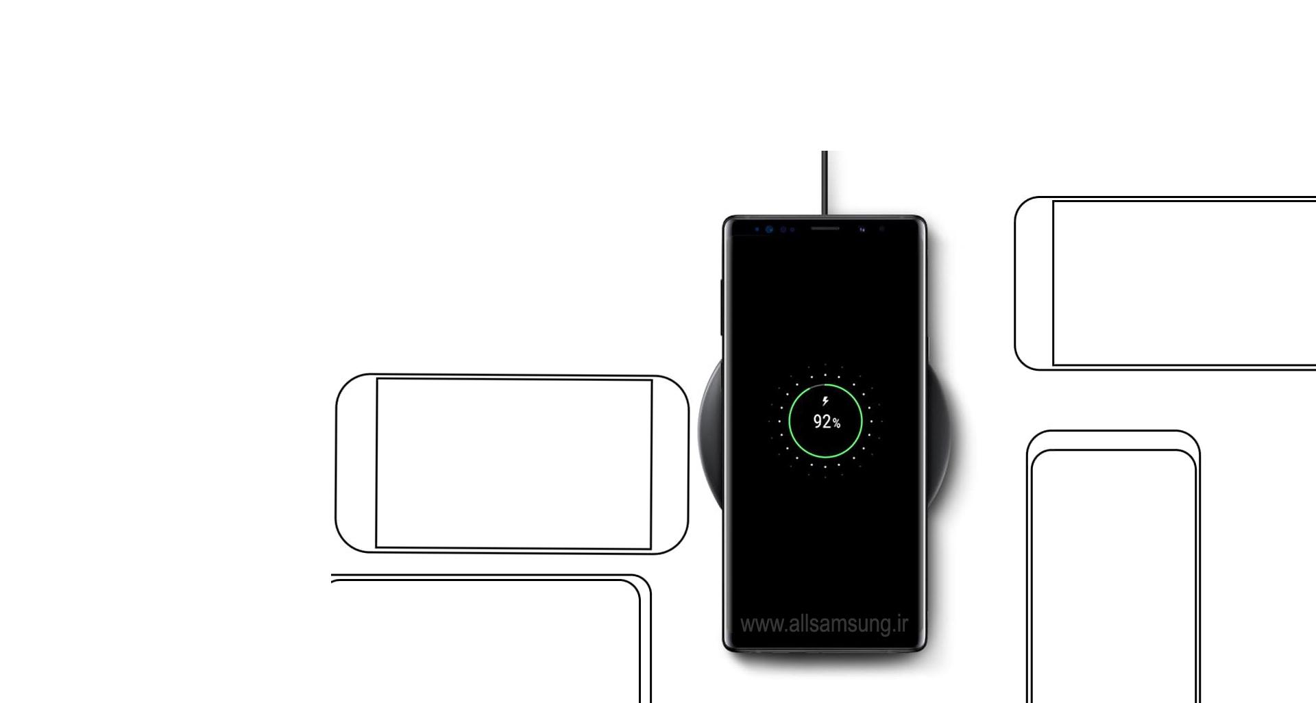 شارژ بی سیم p3100t با پشتیبانی از دستگاه های دارای گواهی Qi