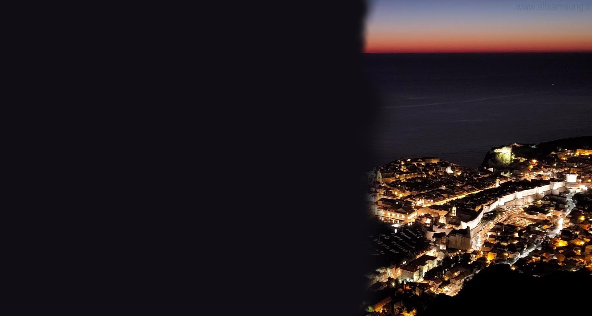 Galaxy Z Flip، آماده برای عکاسی در شب