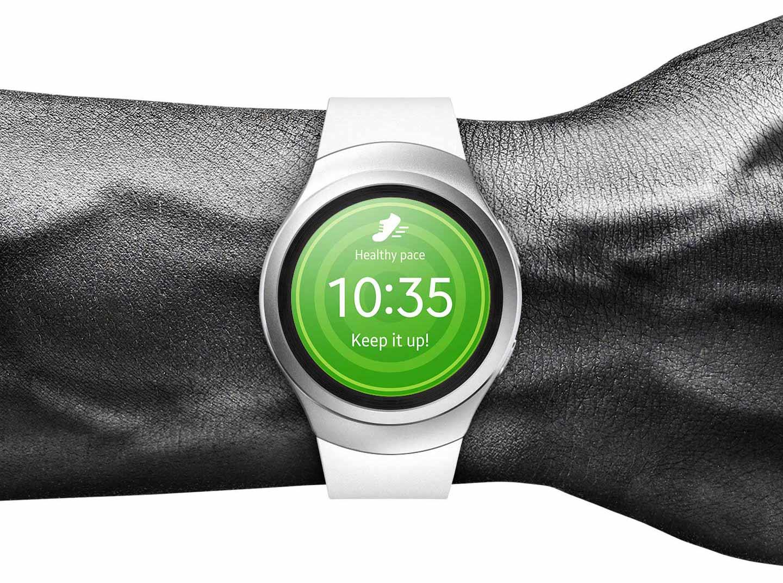 Gear S2طراحی زیبای ساعت هوشمند